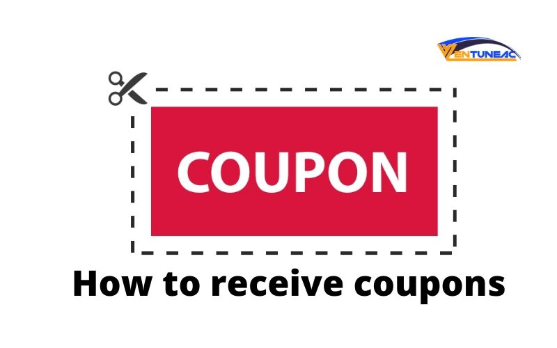 How to receive coupons