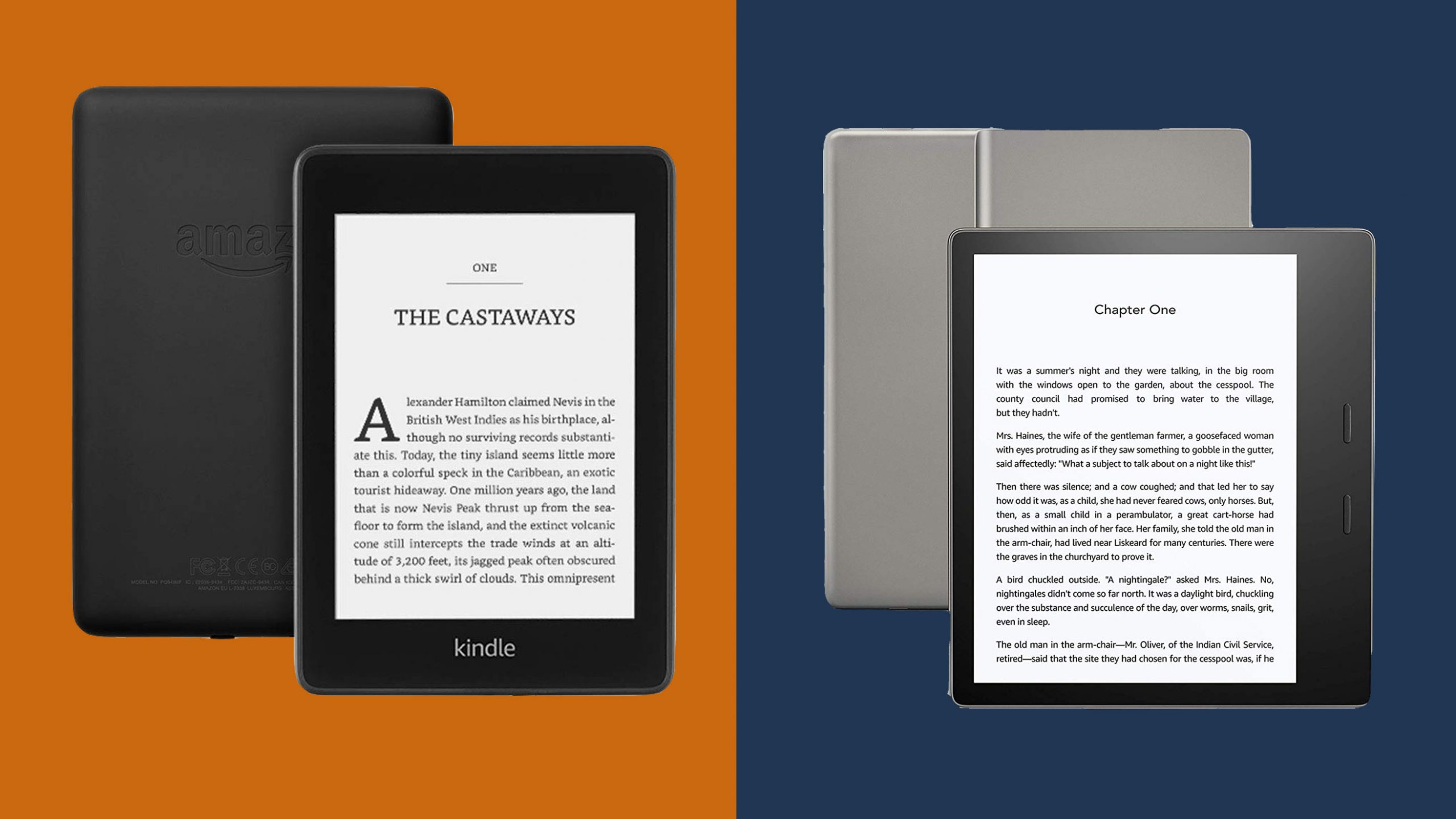 Kindle Oasis Vs Paperwhite