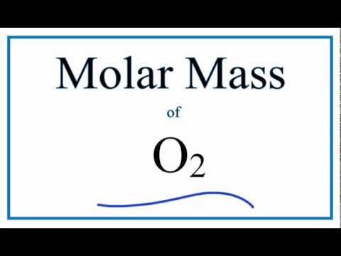 Molar Mass Of Oxygen